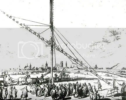 Hevelius 150 ft. arial telescope