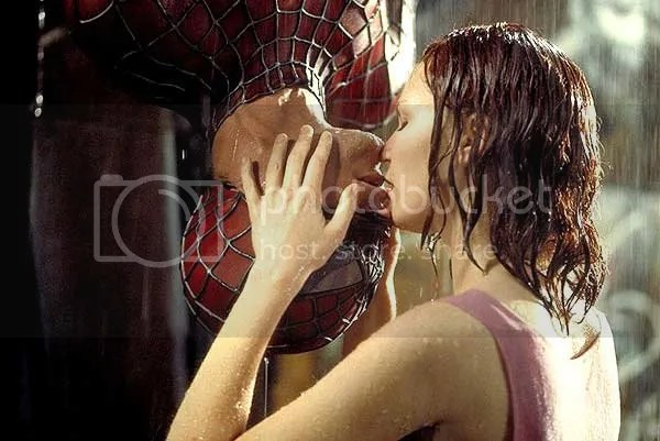 Primeiro beijo do super-herói
