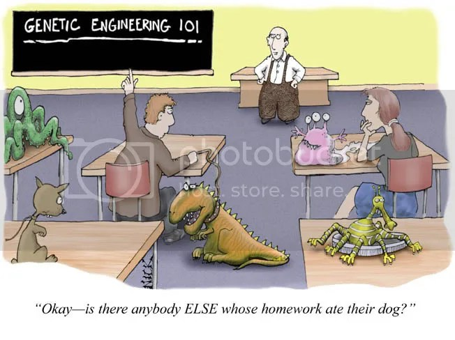 Nick Kim – Genetic Engineering Cartoon