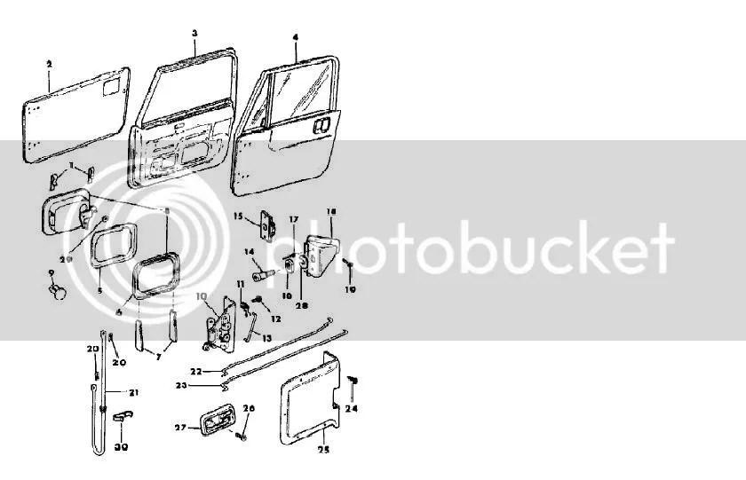 2013 Jeep Door Schematic