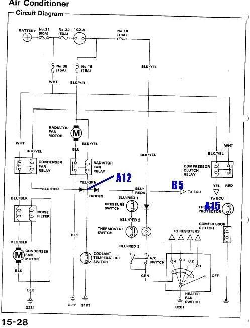 91 crx wiring diagram - dolgular, Wiring diagram