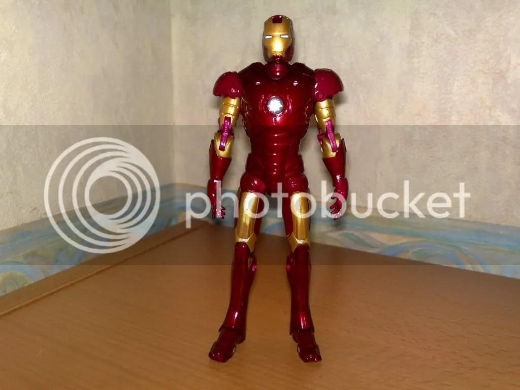 ironman pose