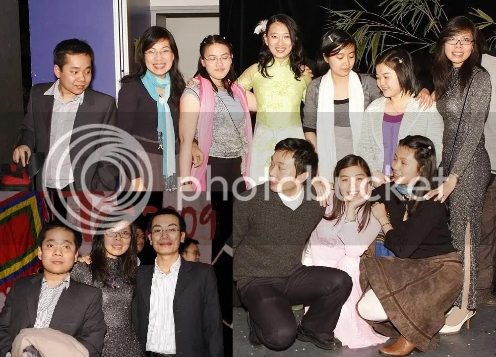 Tết 2009 - bạn bè bên Pháp