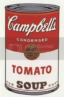 Campbell's Soup I (1968) by Andy Warhol