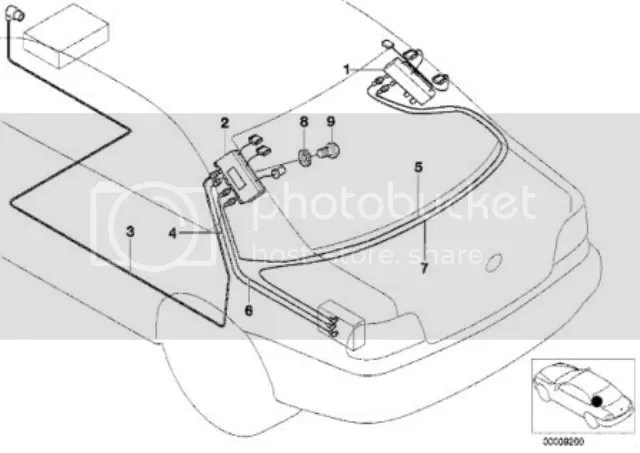 Diagram Antenna Radio Wiring Bmw E39