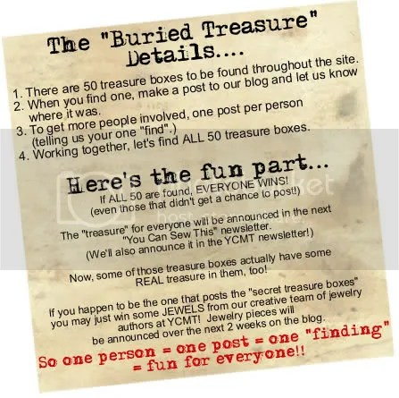 Find buried treasure at YCMT!