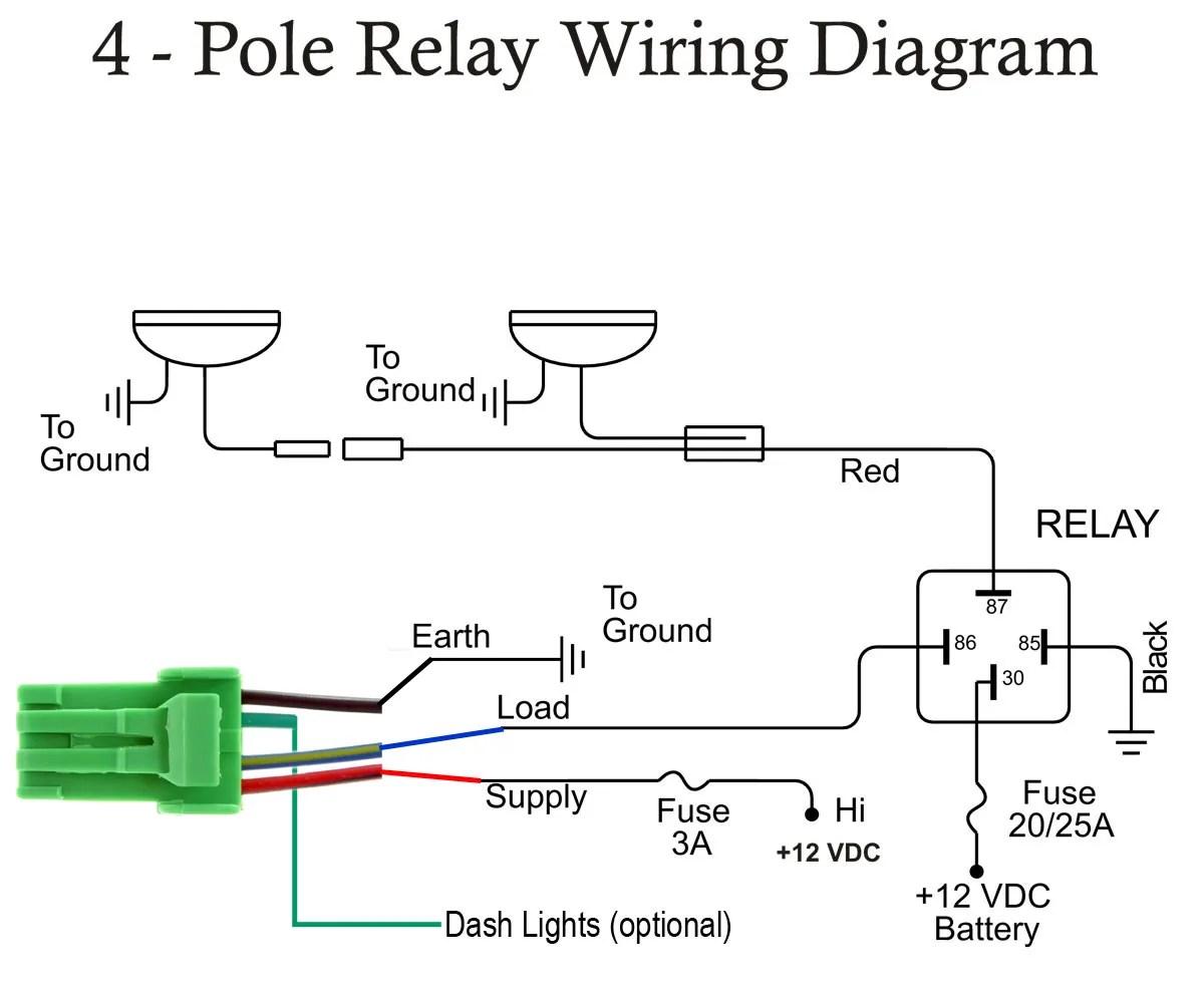 Toyota Prado Spotlight Wiring Diagram   Wiring Library
