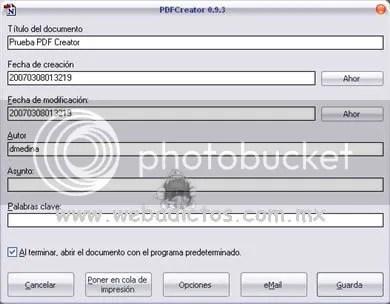 PDF Creator - Software Gratuito Para Crear Documentos PDF - pdf_creator_screenshot4