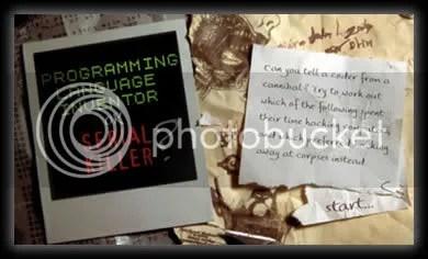 programador o asesino serial Test Descubre Si Se Trata De Un Asesino En Serie o De Un Programador