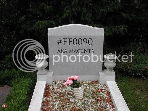 Magenta dead