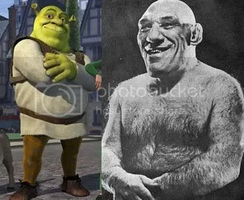 Shrek real