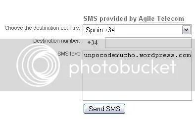 Enviar SMS gratis