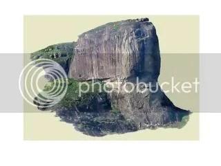 foto da pedra da gávea