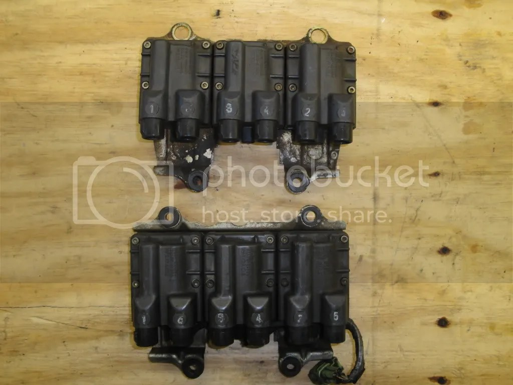 87 88 7mgte Engine Harness Ecu S Cps Coil Packs