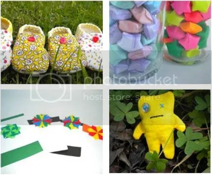 Baby Shoes, Lucky Stars, Teabag Folding, Monster Pin Cushion