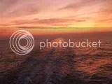 Aida, Sonnenuntergang