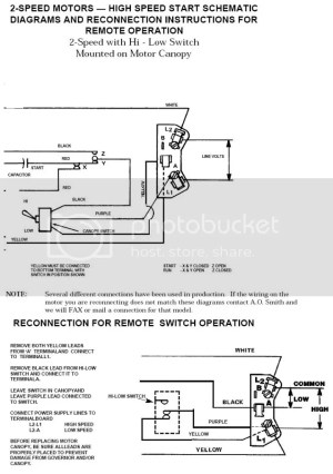 Need Help Wiring Switch to 2Speed Pump