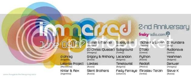 Immersed 2 Year Anniversary - DJ - http://alldj.org