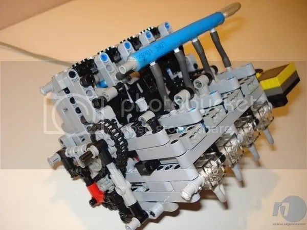 VWVortex com   The LEGO Motor   Transmission Collection  Yep  made     MOAR LEGO MOTORS  V8 Startup   1000 RPM s  http   youtube com watch v cco   lated  Pneumatic V8  Incredible Detail   http   youtube com watch v nZU   lated