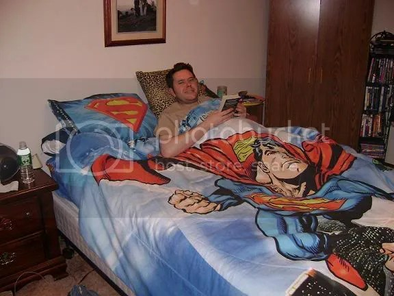 Even Men of Steel Need To Sleep