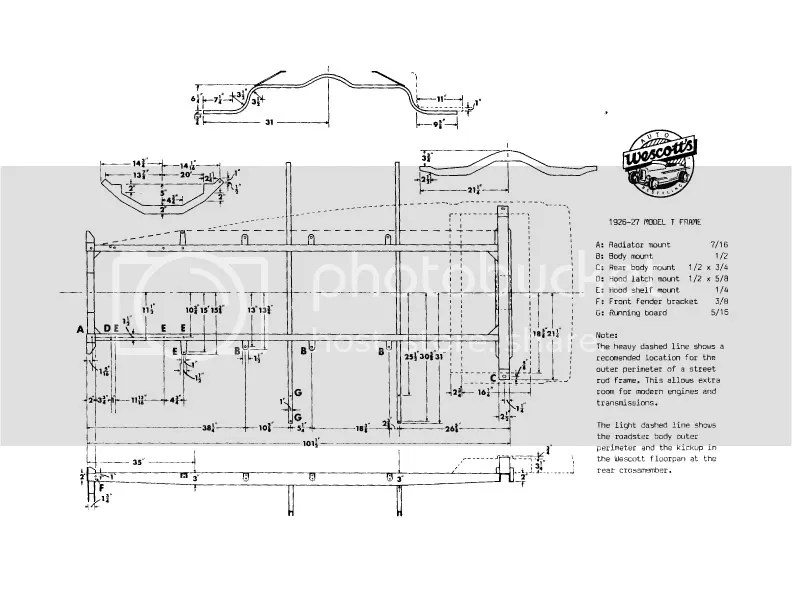 Model T frame dimensions?resize\=792%2C612 1925 model t wiring diagrams electrical wiring diagrams