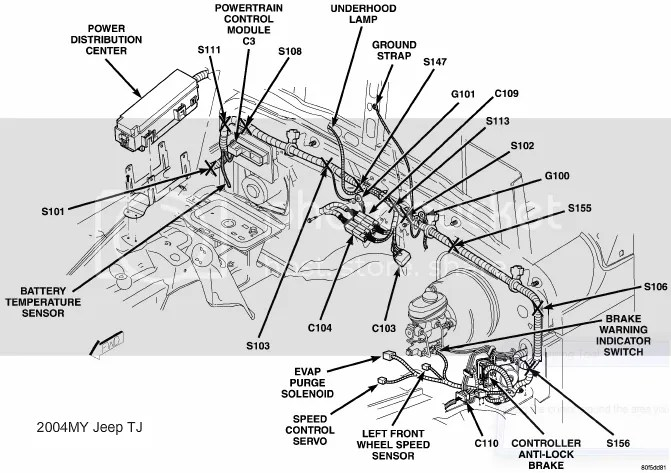 jeep cherokee ke diagram