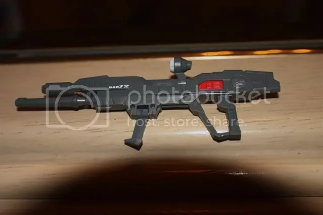 Standard issue beam rifle