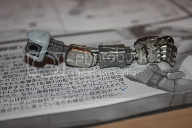 Skeletal arm. The chromed parts have a nice shine to them =D