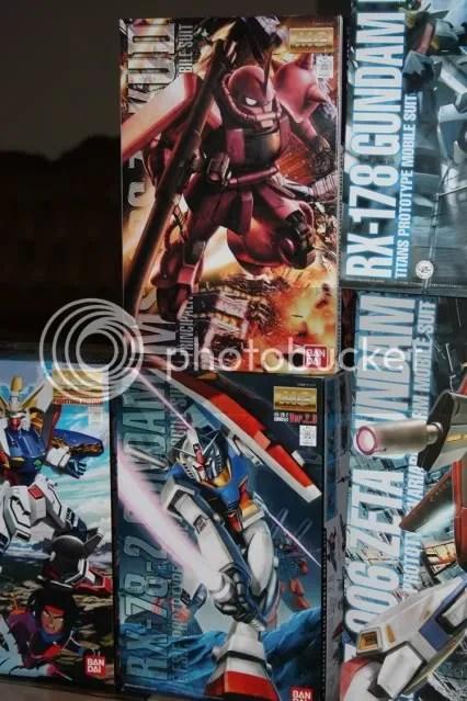 MG Chars Zaku ver 2.0 and MG RX-78-2 Ver 2.0!!!