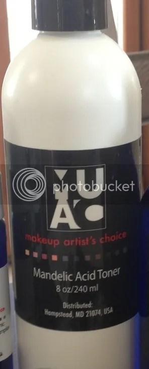 New Product Muac Mandelic Acid Toner 5 My Muac Experience
