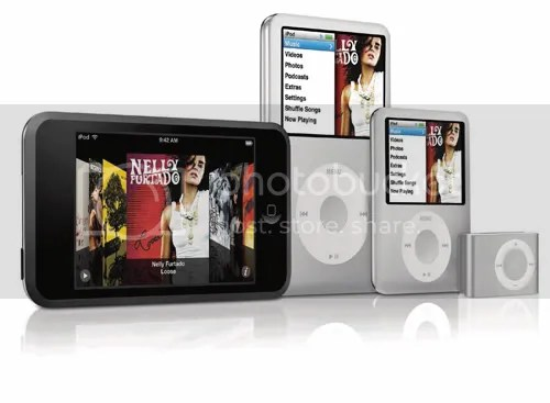 TB Tech Blog - iPod range Sep 2007