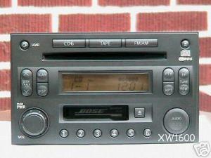 2003 Bose Nissan 350Z Radio Cassette 6 CD Changer | eBay