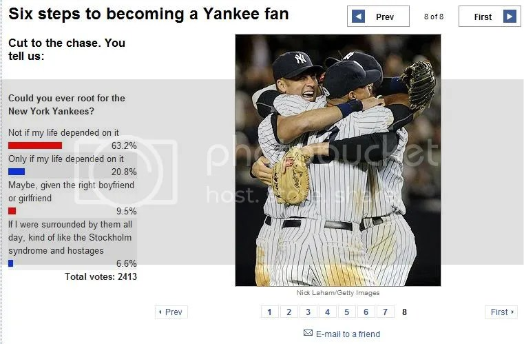 Rooting for the Yankee?