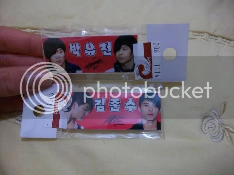 Yoochun and Junsu Pins
