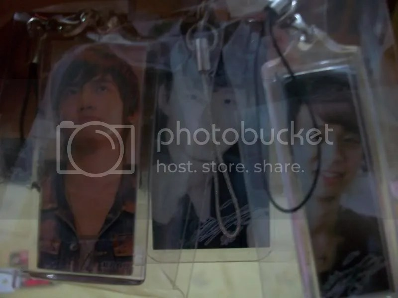 Changmin & 2 Yoochun Cell Phone Charms (side 2)