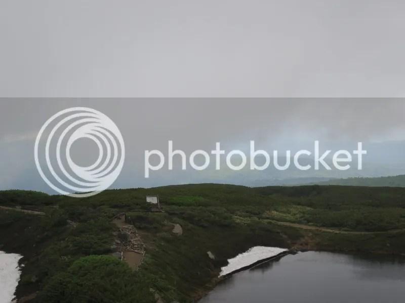 Asahidake mountain cloud view