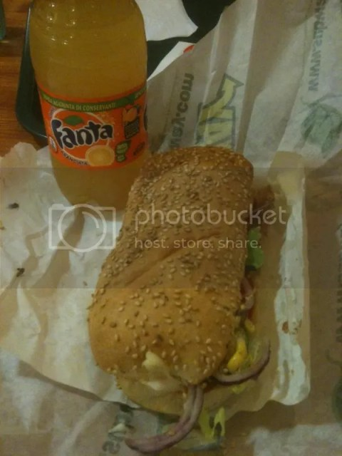 Subway in Rome~ everything else is simply too expensive. photo 460677_10151038403651209_1242518341_o.jpg