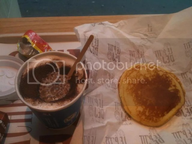 Mc breakfast in Paris. Only 2.70 euros! photo 471286_10151018541591209_151350566_o.jpg