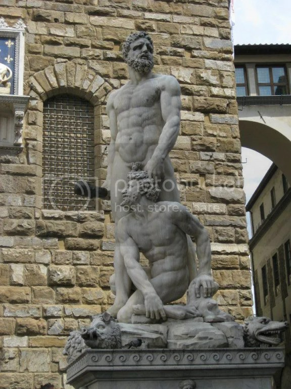"""Hercules and Cacus"", by Bandinelli (1533) photo 602468_10151093349191209_1133290534_n.jpg"