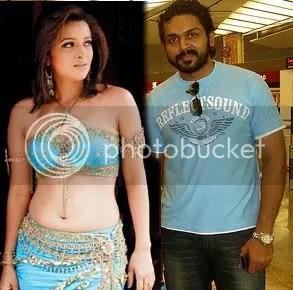 Reema Sen and Karthi