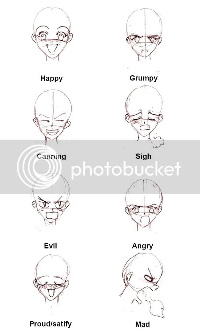 Mangá expressões