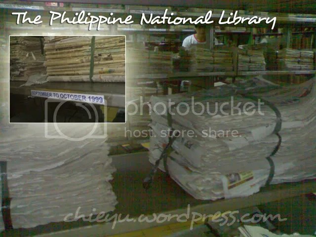 Filipiniana Section - Archives