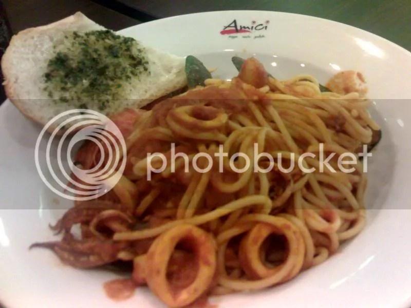 AMICI_spaghetti alla pescatora