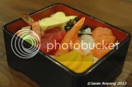 Ajisen Ramen_chirashi sushi