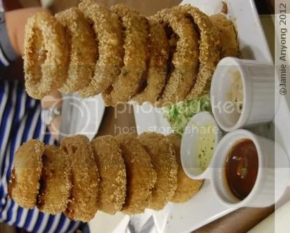 CAJUN_tower o' sesame rings