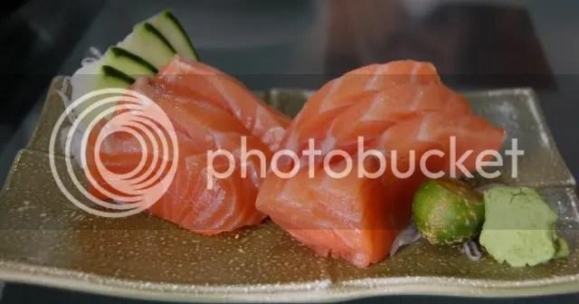 Nihonbashitei_salmon sashimi