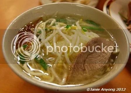 goose noodle soup