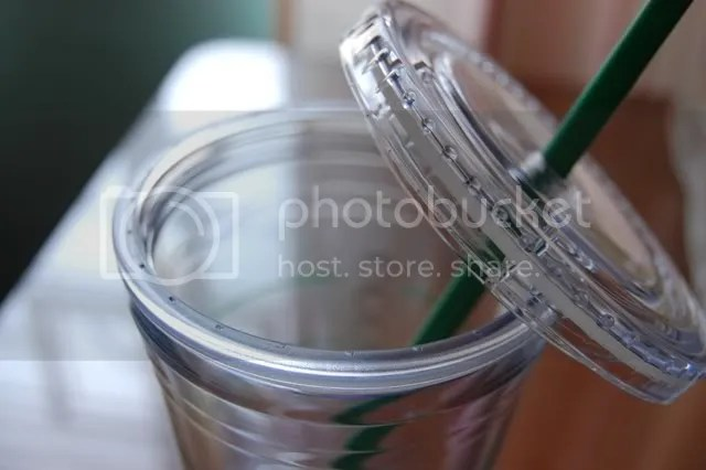 Starbucks tumbler lid