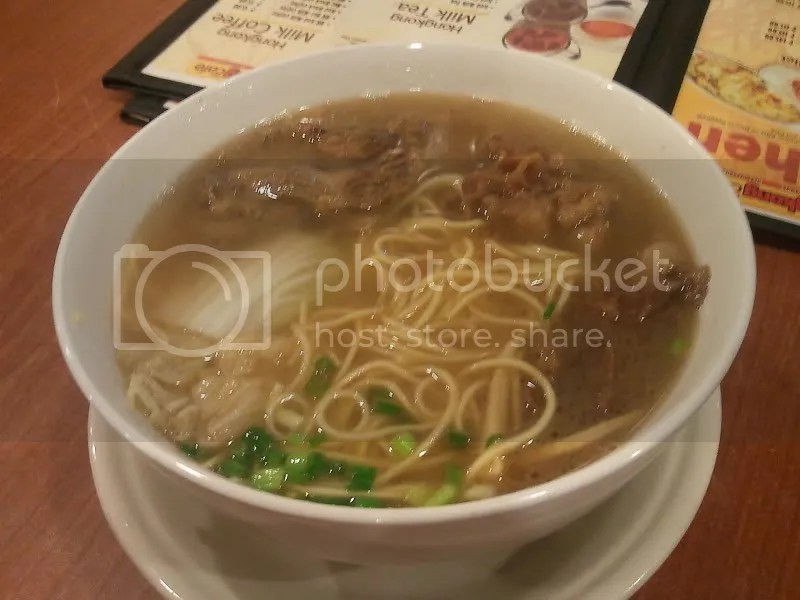 The New Hong Kong Cafe_Sate Beef Noodle Soup