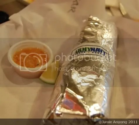 Army Navy_carnitas burrito